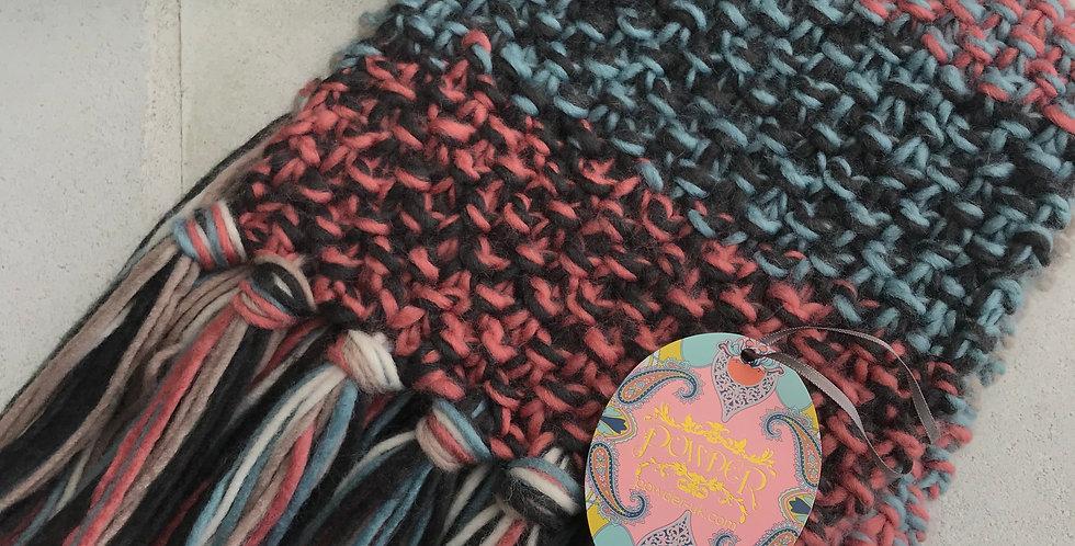 Multicolor Knit Scarf
