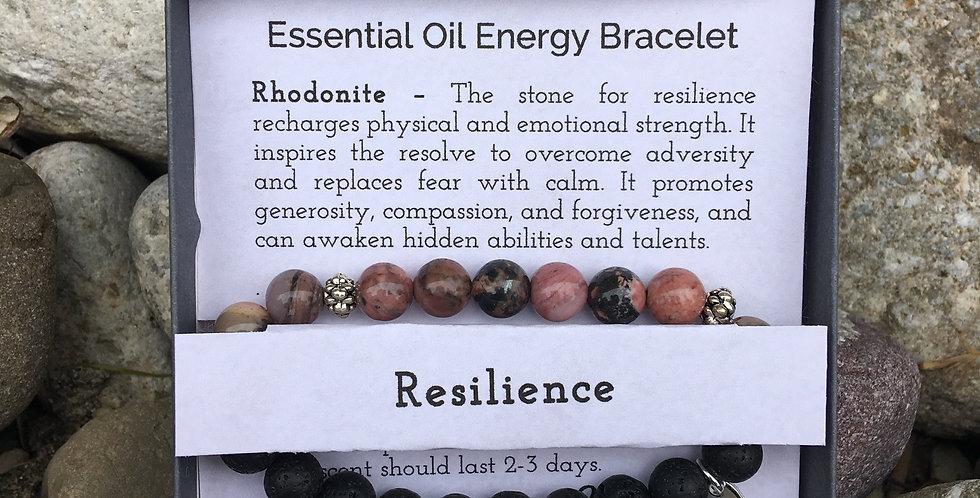 Resilience Essential Oil Stretch Bracelet