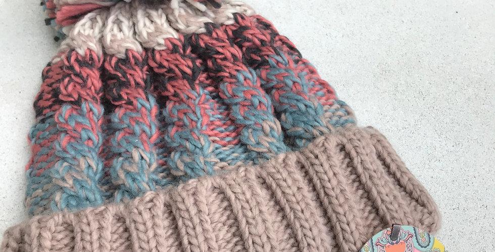 Multicolor Knit Hat
