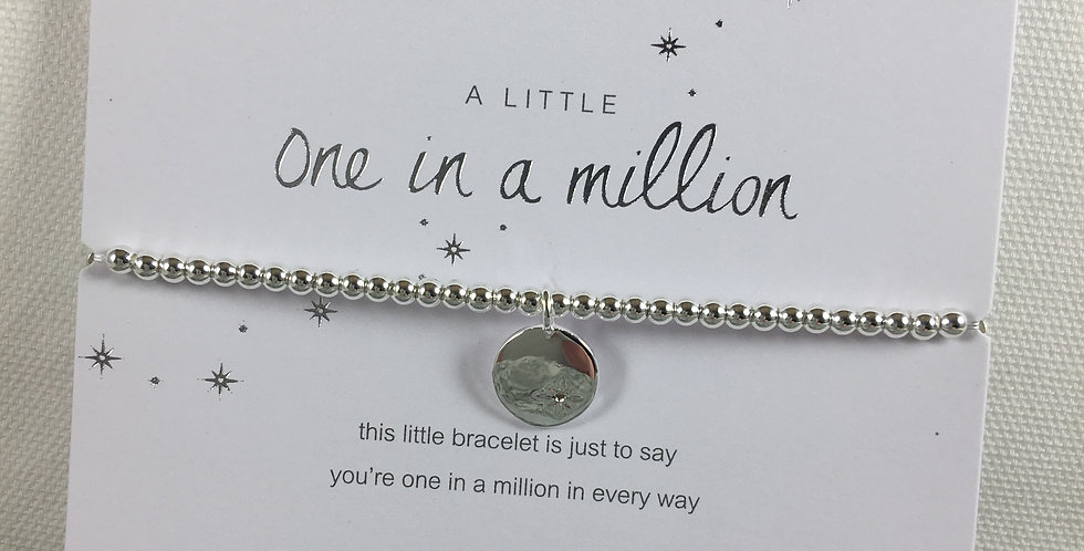 One in a Million Stretch Bracelet
