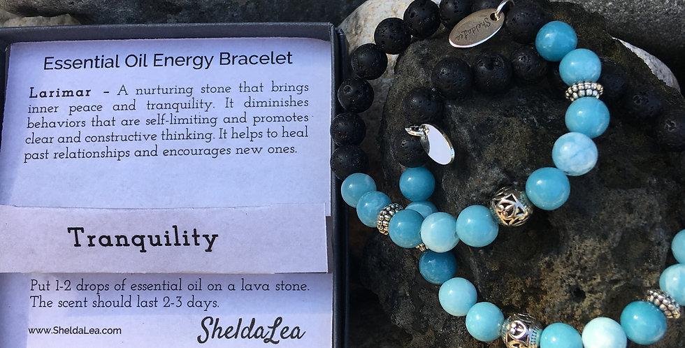 Tranquility Larimar Charity Bracelet