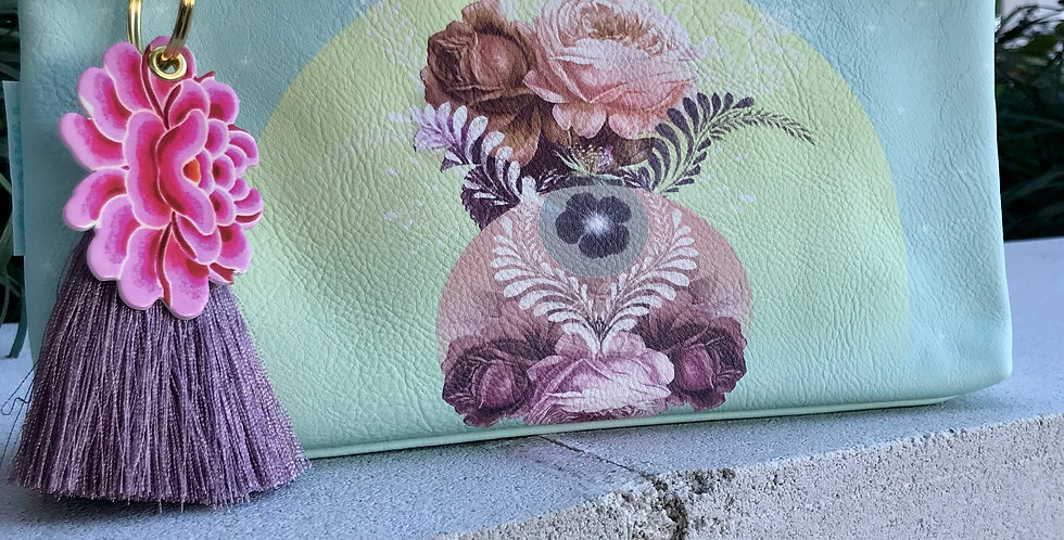 Solar Blooms Small Pouch
