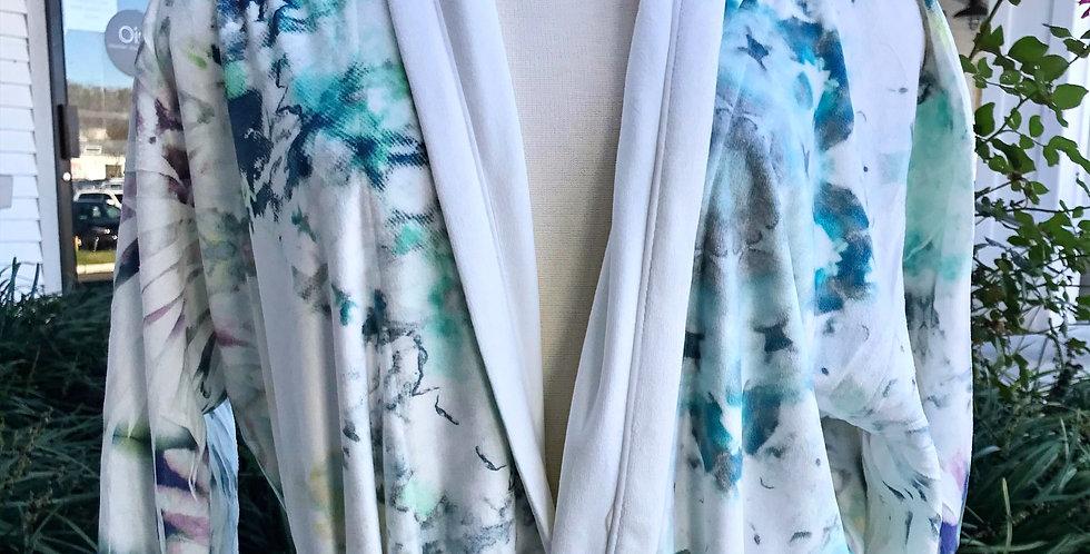 Watercolor Long Robe