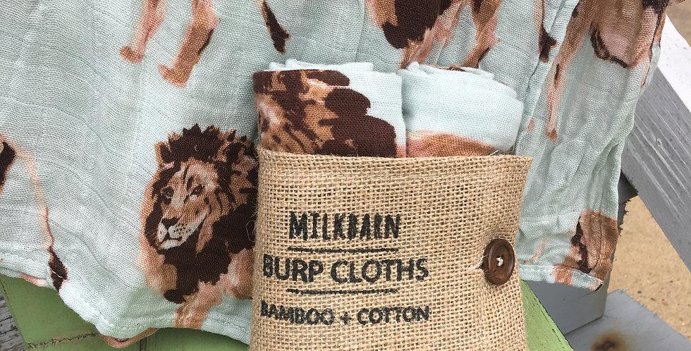 Lion Burp Cloth