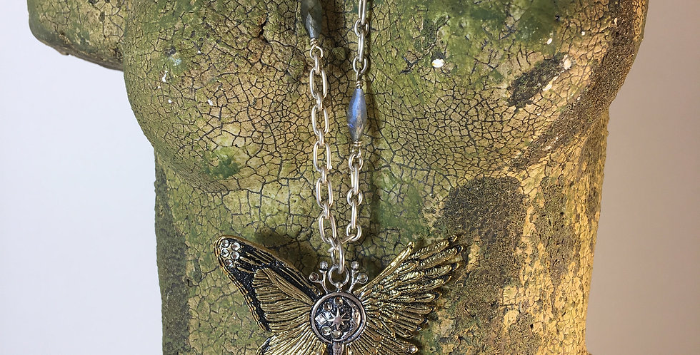 Ascension Butterfly Pendant Necklace