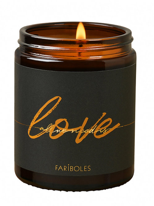 BOUGIE ALL WE NEED IS LOVE CACHEMIRE 140G - FARIBOLES
