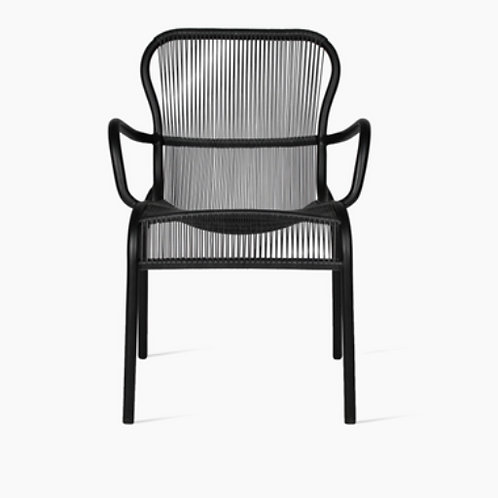 Loop dining chair noir - Vincent Sheppard