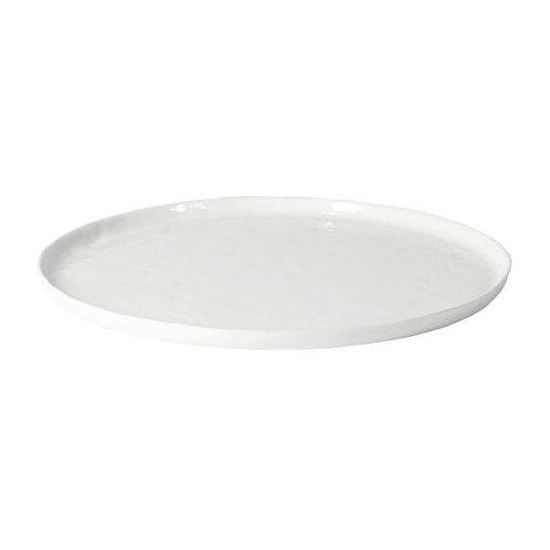 Assiette Plate Porcelino - Blanc - 28 cm