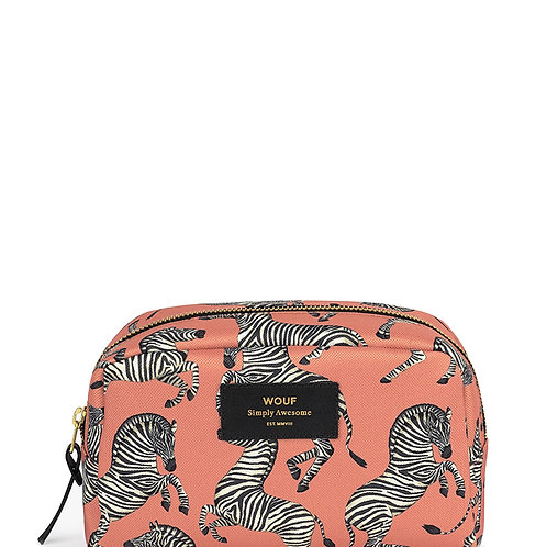 Make Up Bag Zebra - Wouf