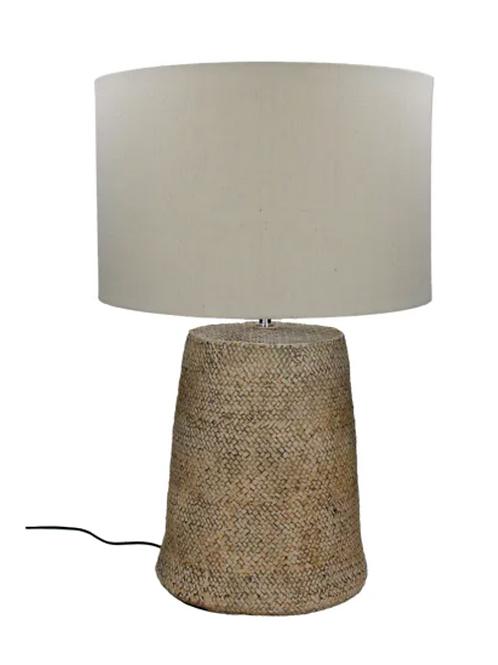 Lampe de table avec abat jour - Béton