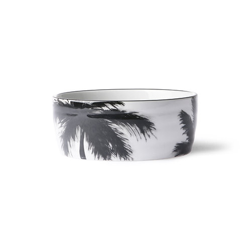 Bol Palmier Noir & blanc