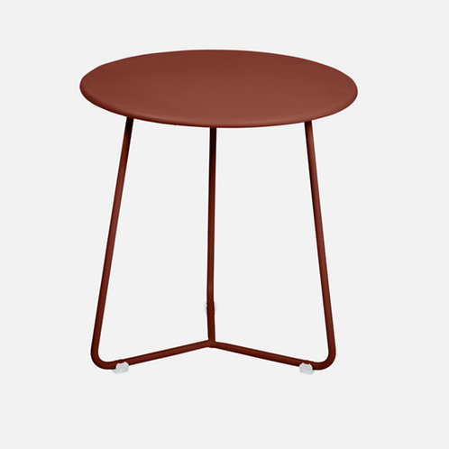 COCOTTE TABLE APPOINT / TABOURET - OCRE ROUGE -FERMOB
