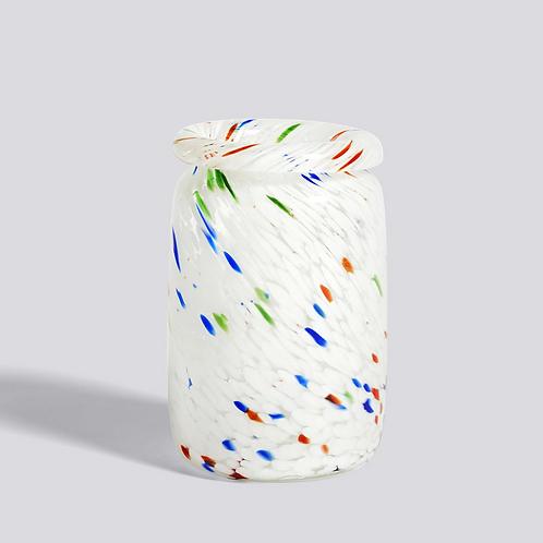 Vase Splash / COL ROULÉ M POIS BLANC - HAY