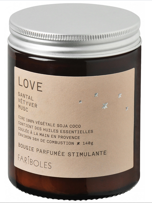 "Bougie ""love"" - 140 g"