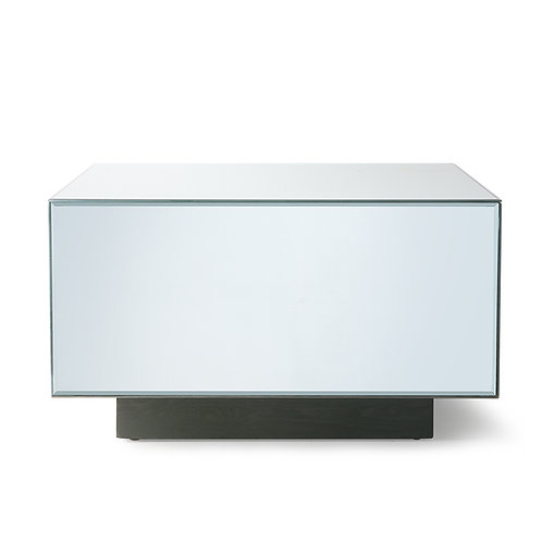 Grande table basse miroir