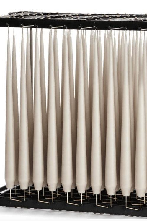 Bougies - Chandelles gris claires