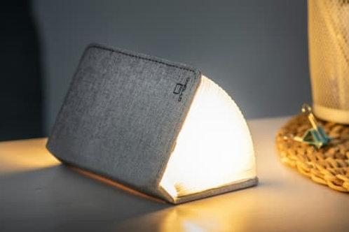 Lampe Livre - Petit Format Tissu Gris