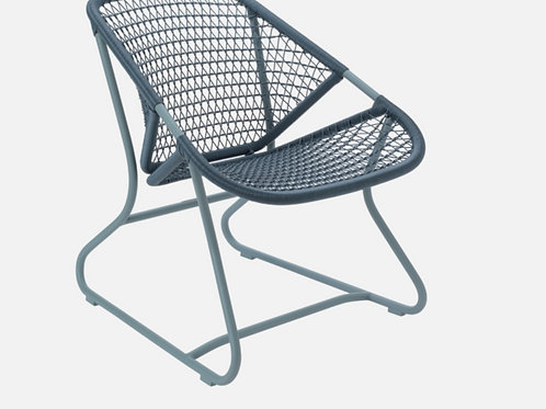 SIXTIES FAUTEUIL - GRIS ORAGE - FERMOB