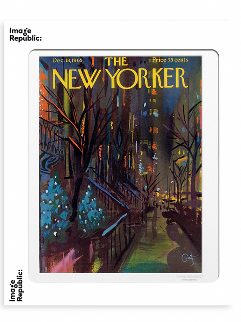 166 - ARTHUR GETZ - CHRISTMAS IN NYC - Collection :The New Yorker/Image Republic