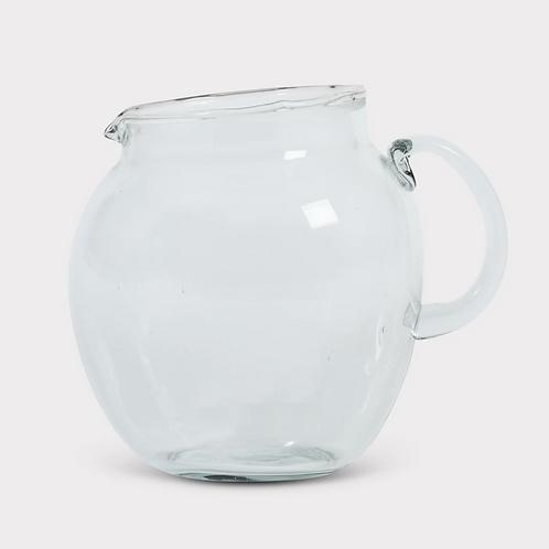 Cruche en verre recyclé Inattendu