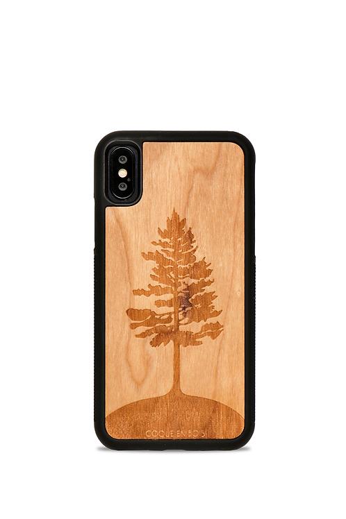 Coque en bois Iphone 7-8 - L'Arbre Merisier