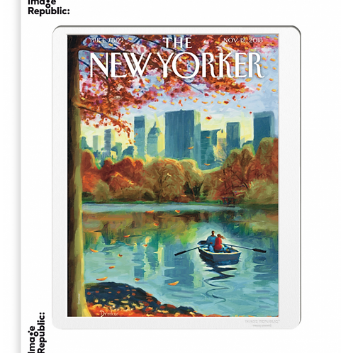 170 - ERIC DROOKER - ROW BOAT IN CENTRAL PARK - Collection : The New York