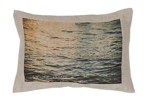 Coussin Nature Inside - Jet