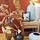 Thumbnail: Vase en verre effet givré - Noir
