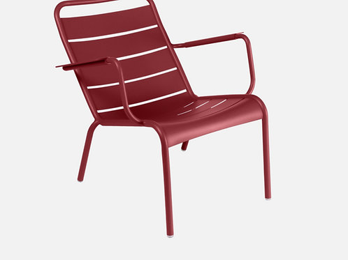 LUXEMBOURG FAUTEUIL BAS - PIMENT - FERMOB