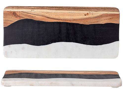 Planche à découper - Multicolore, Marbre