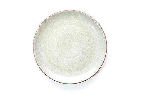 Assiette astrée 25,5 cm - Céladon