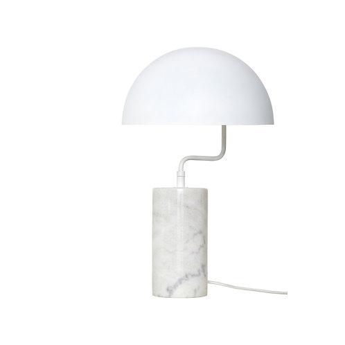 Lampe à Poser Marbre Blanc