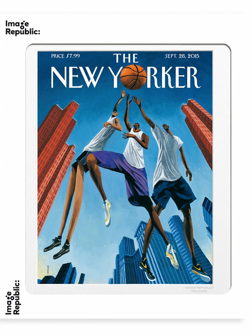 168 - MARK ULRIKSEN - BASKETBALL AND BUILDINGS - The New Yorker/Image Repu