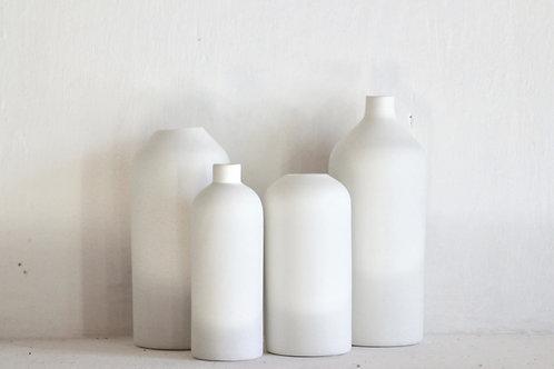 Vase Blanc Céramique - Simple