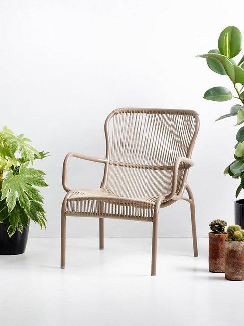 Loop lounge chair noir - Vincent Sheppard