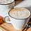 Thumbnail: Tasse & soucoupe  en porcelaine - BASIL