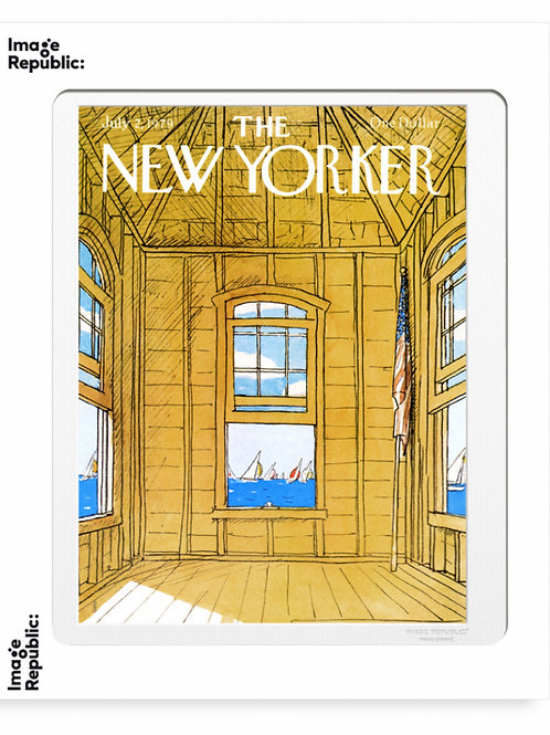 146 - ARTHUR GETZ - YELLOW ROOM BY THE  SEA - The New Yorker/Image Republic
