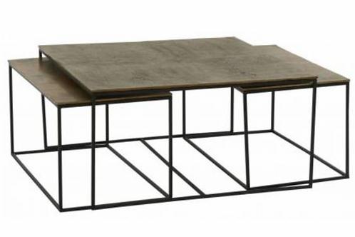 Set 3 tables basses - IBIZA