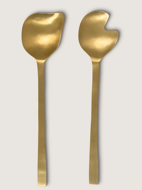 Serveur à salade - or