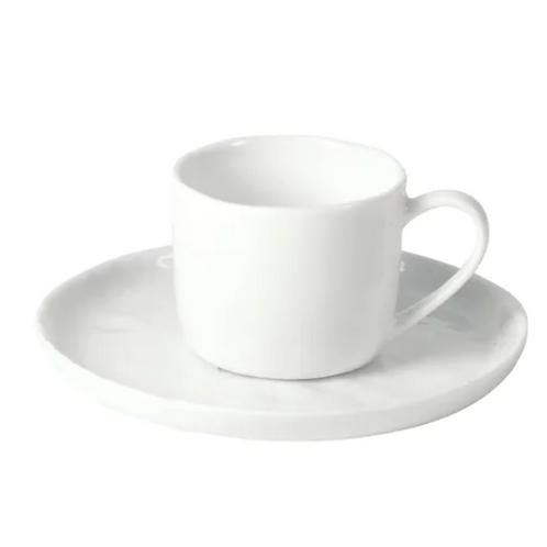 Tasse & soucoupe - Porcelaine