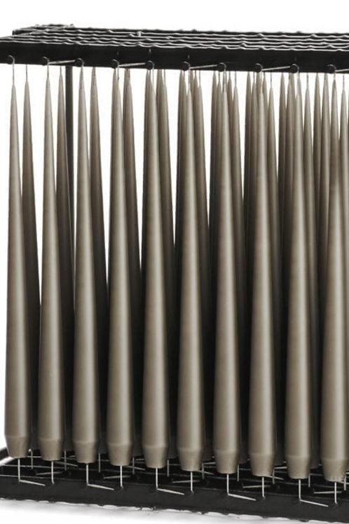 Bougies - Chandelles gris foncés