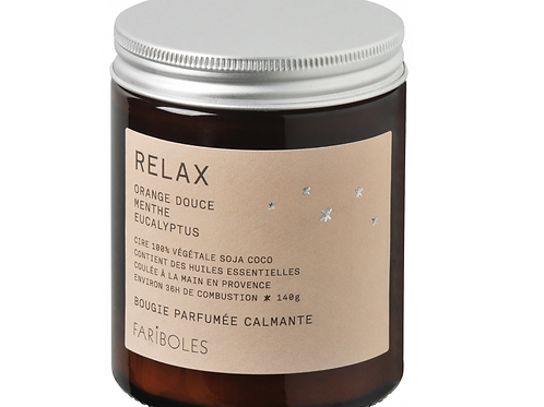 "Bougie ""relax"" - 140 g"