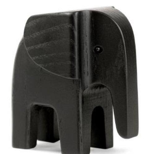 Eléphant bois Chêne noirci