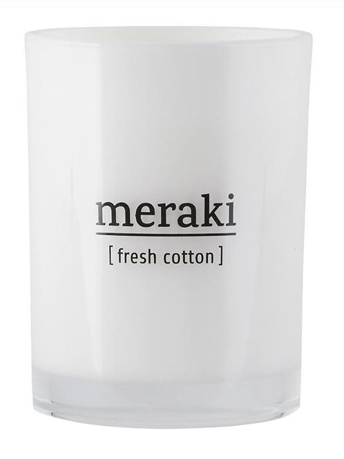 Bougie Fresh cotton - MERAKI - 220g