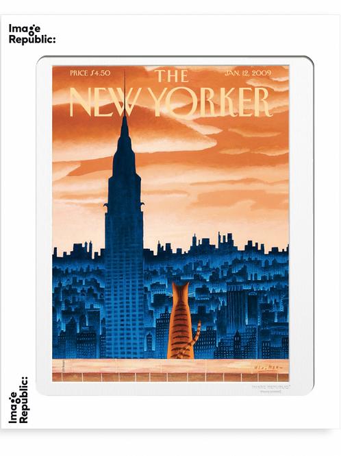 105 - MARK ULRIKSEN - WINDOWSILL  - Collection : The New Yorker / Image Republic