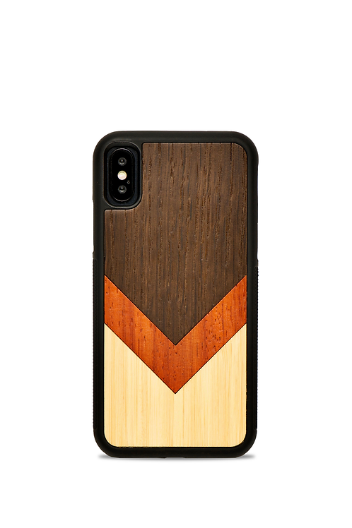 Coque en bois Iphone X/XS - La Triade