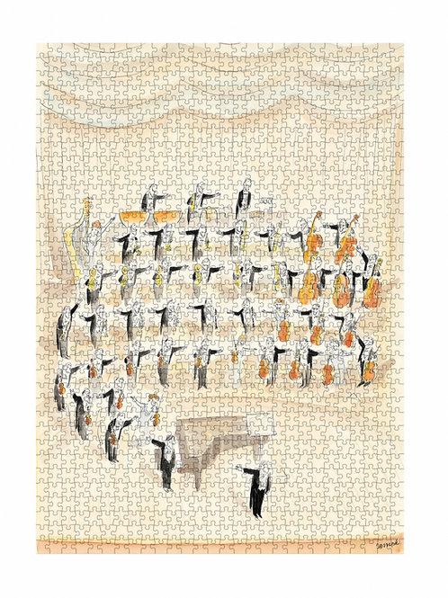 PUZZLE SEMPÉ ORCHESTRE - Image républic