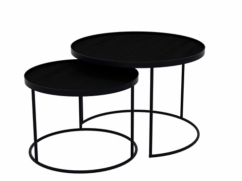 Set de Tables hautes Rondes - Ethnicraft