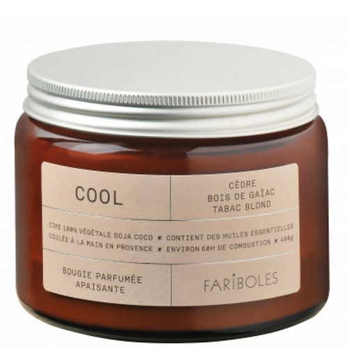 """Bougie """"cool"""" - 400g"""