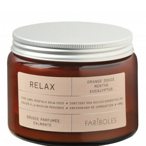 """Bougie """"relax"""" - 400g"""